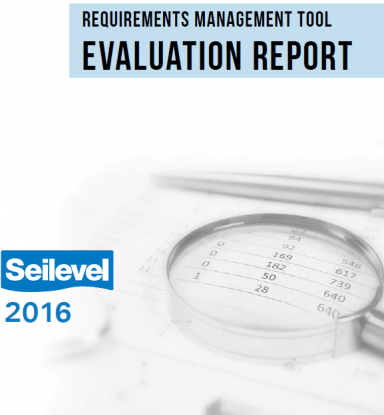 Requirements management tool evaluation report
