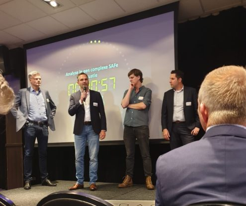 Synergio presentatie pitch op DREAM2019