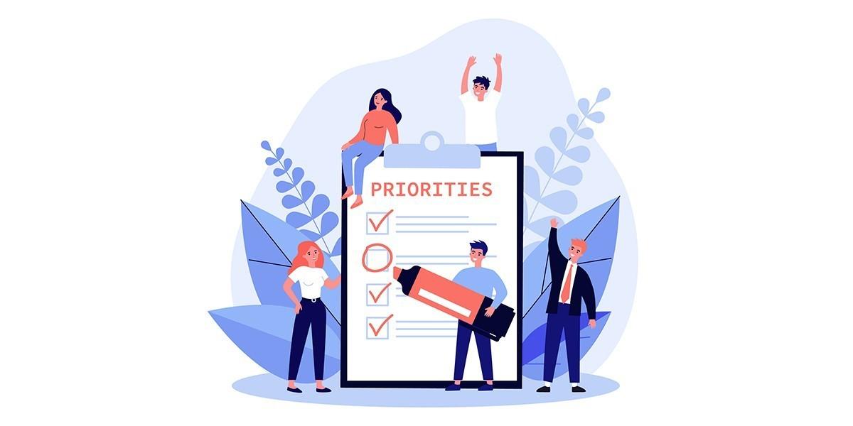 Planning op basis van prioriteiten